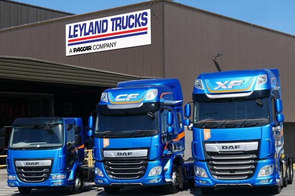 Leyland Trucks gana el Premio de la Reina a la Empresa en Comercio Internacional